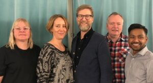 Jobbsams expertteam: Kerstin Ivarson Ahlstrand, Karin Ekelund Malmros, Ove Brandberg, Stefan Johansson och Simon Sjöholm